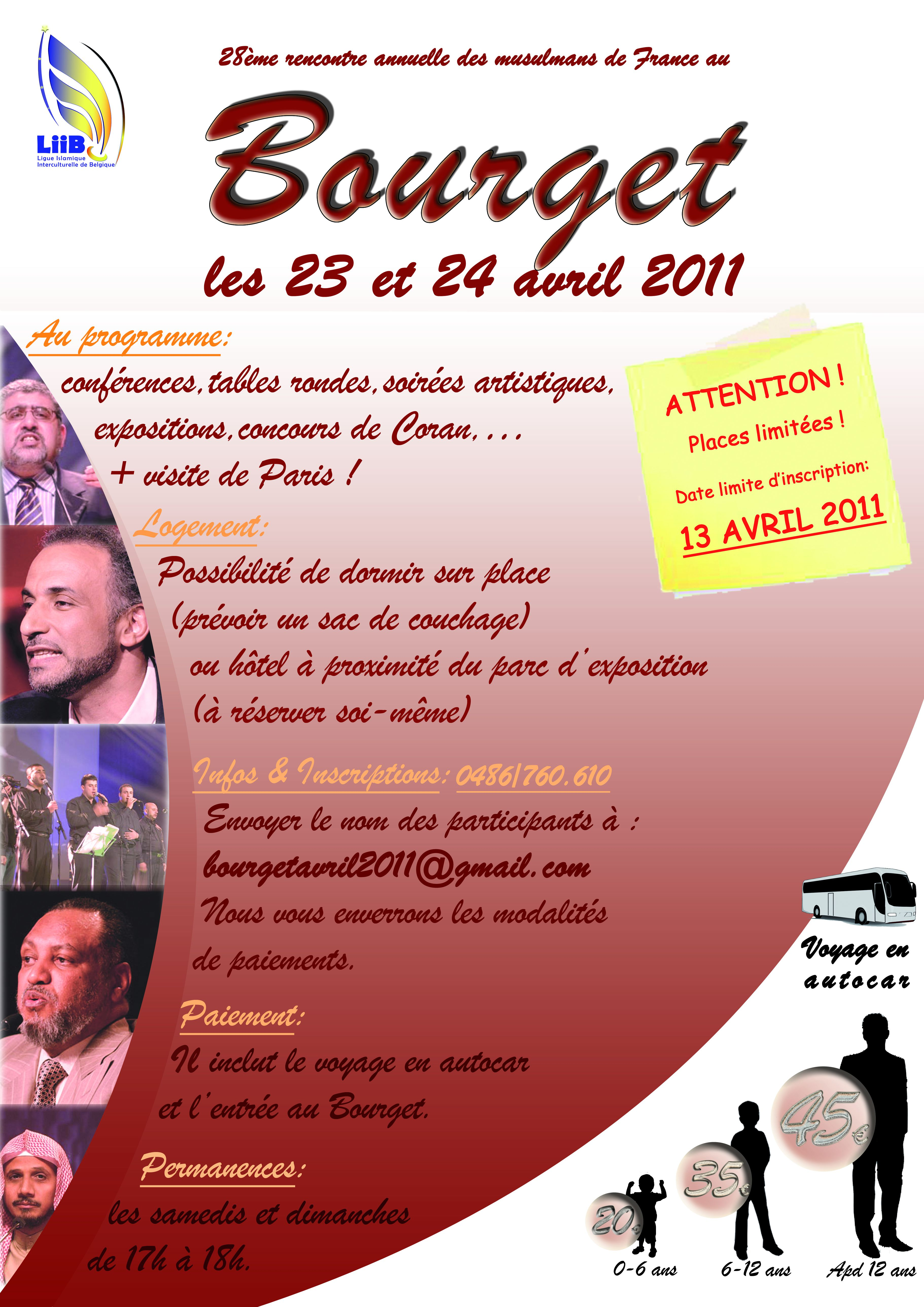 date rencontre musulmans france bourget