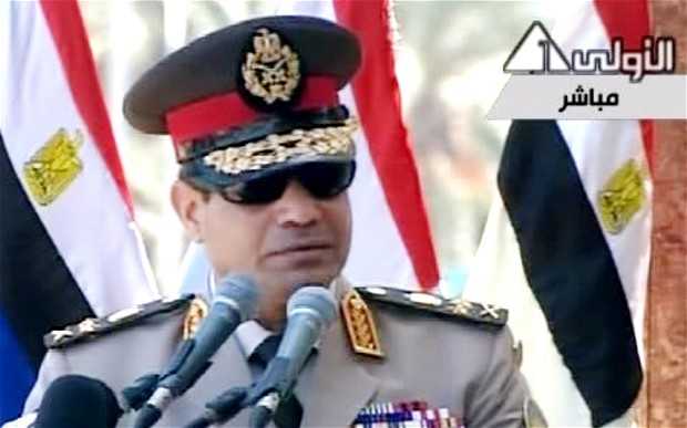 Egypt's military chief accused of declaring 'civil war' against Muslim Brotherhood